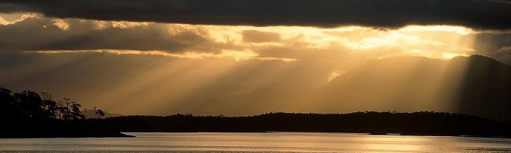 Chilenische Fjordlandschaft